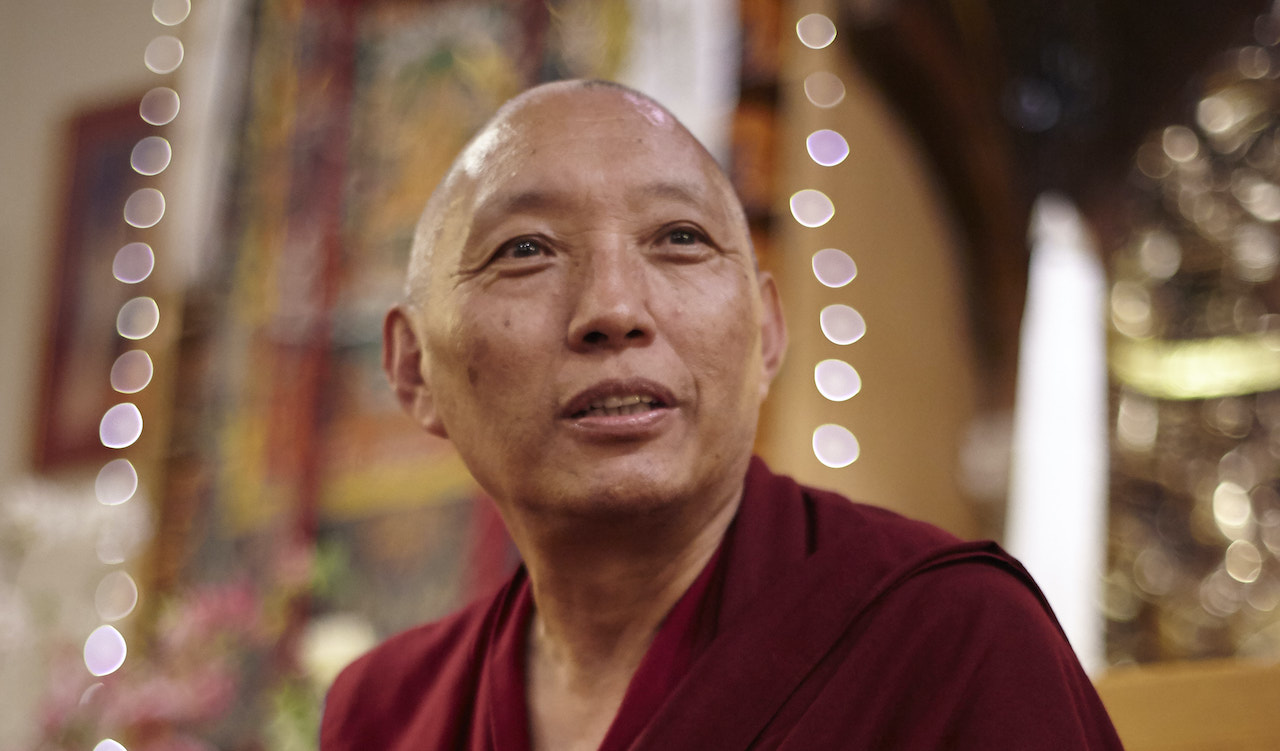Geshe Tashi video message about The Foundation of Buddhist Thought Course