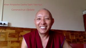 Geshe Tashi Tsering's Covid-19 Update 28th March