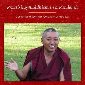 Practising Buddhism in a Pandemic – Geshe Tashi Tsering's Coronavirus Update 12th August