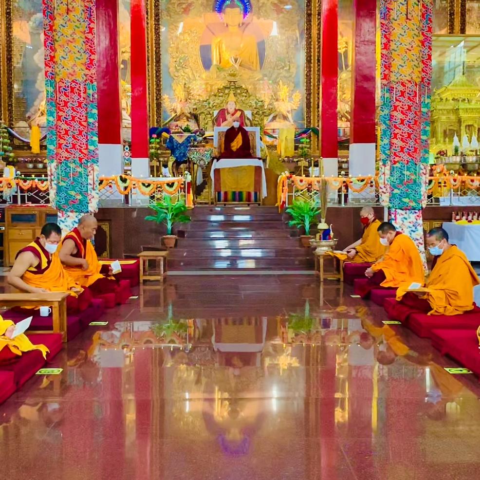 Sera Mey's Medicine Buddha Ceremony